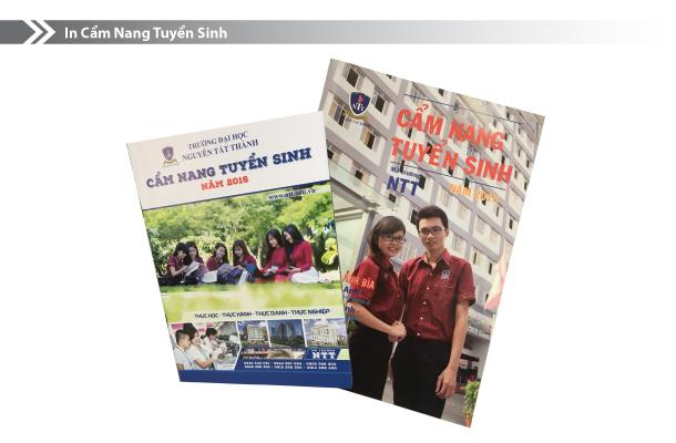 In ấn phẩm cho nhà trường