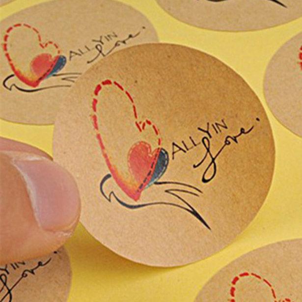 Chia sẻ quy cách in decal giấy kraft tiết kiệm