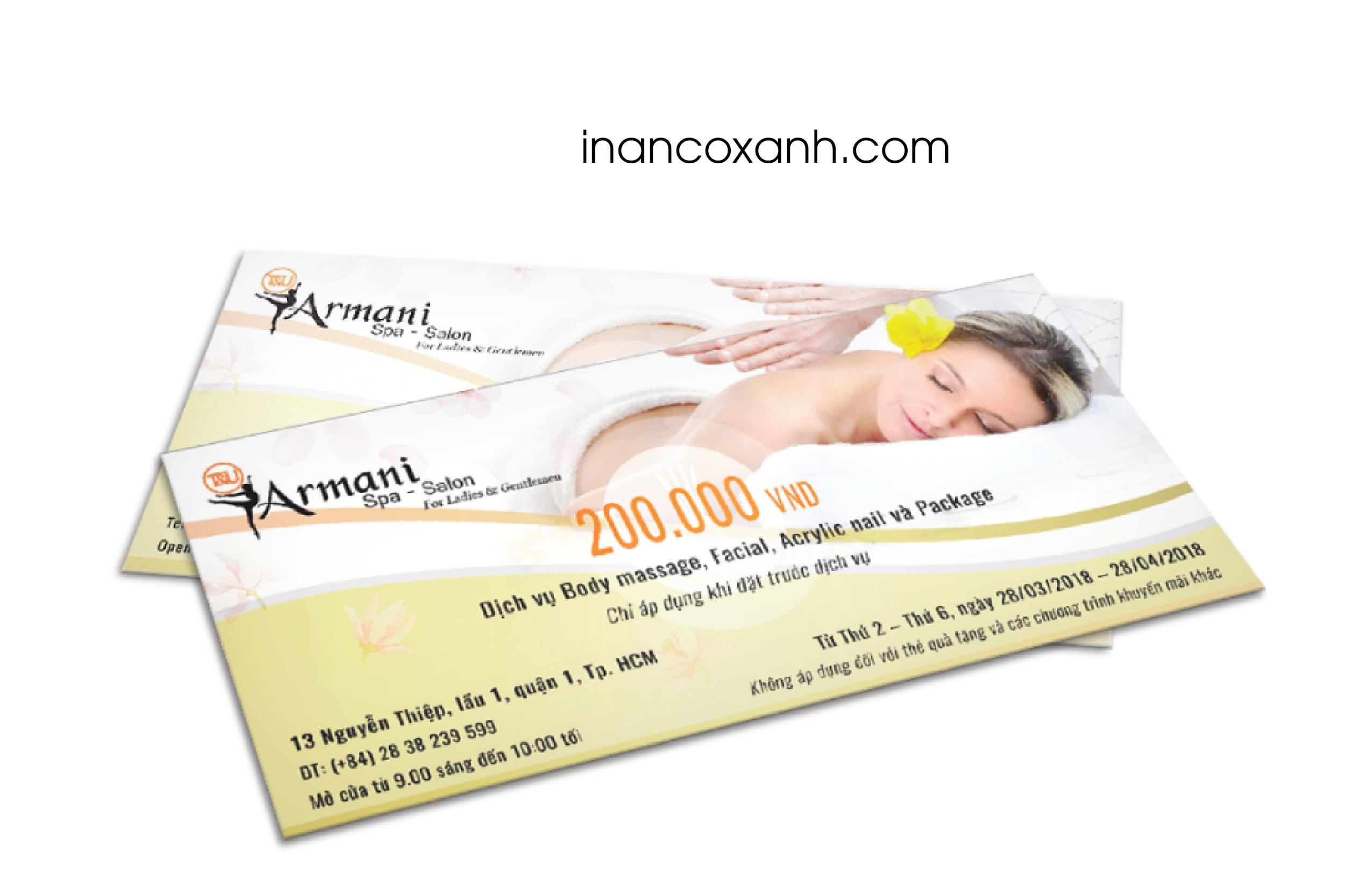 in coupon tang khach
