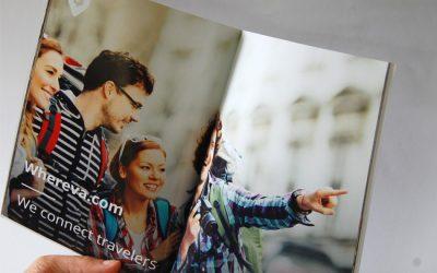 In catalogue khổ A5 cẩm nang du lịch