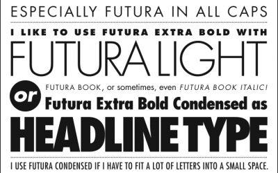 Lựa chọn font chữ như thế nào khi in ấn danh thiếp?