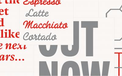 5 nhóm Font chữ in ấn thường gặp